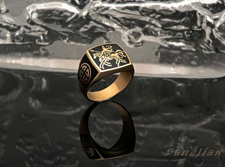 Sovereign Signet Ring - Signet Rings for Men
