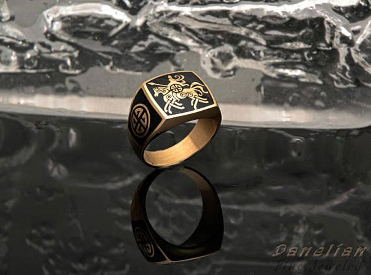 Sovereign Signet Ring - Signet Rings for Men
