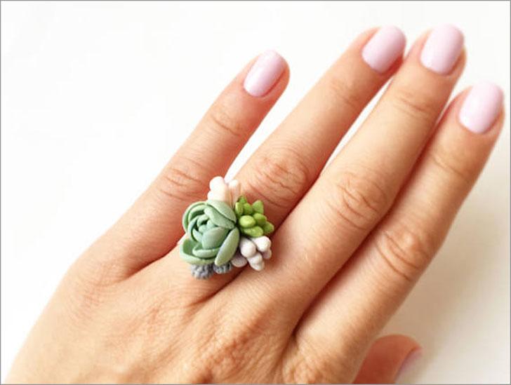 Succulent Rings