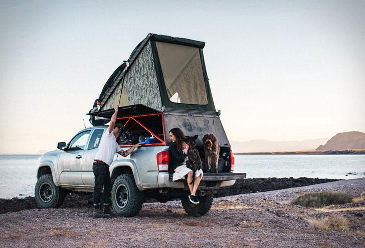 The Go-Fast Camper Off-Road Popup Camper