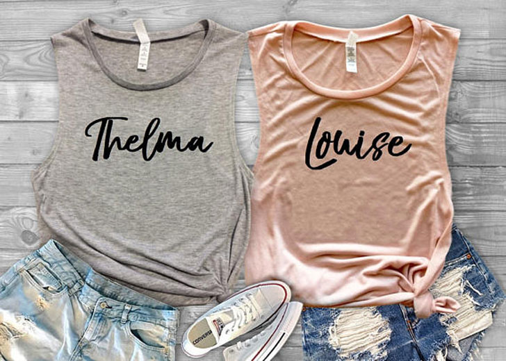 Thelma and Louise Best Friends Forever Shirts