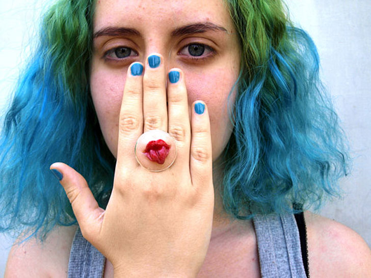 Tongue Poke Ring