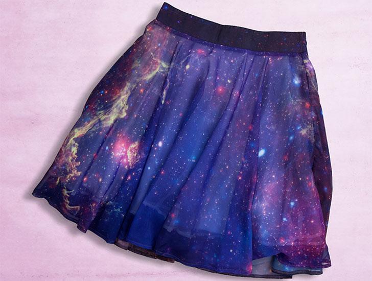 Twinkling Milky Way Skirt