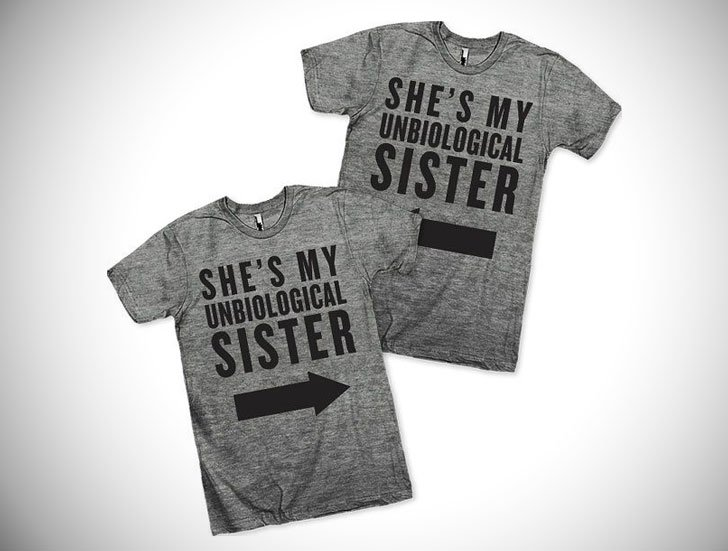 Unbiological Sisters Best Friend Shirts