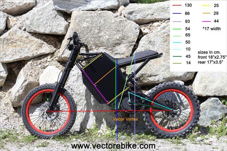 Vector Vortex Off-Road Electric Dirt Bike