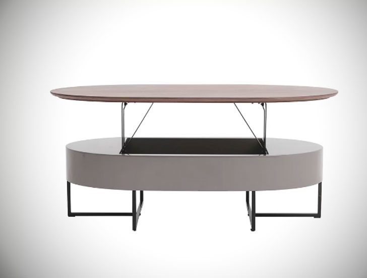 Wooten Oval Coffee Table with Lift Top