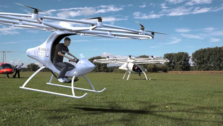 World's First Multicopter