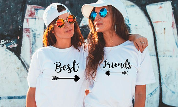 5485c8c25 37 Greatest Matching Best Friend Shirts For 2! ( Friendship Shirts )