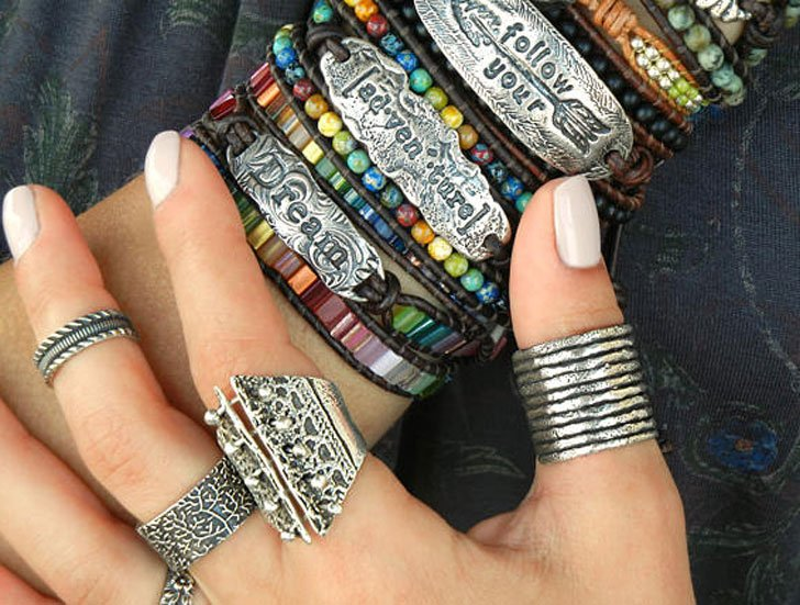 Adjustable Stacker Thumb Rings