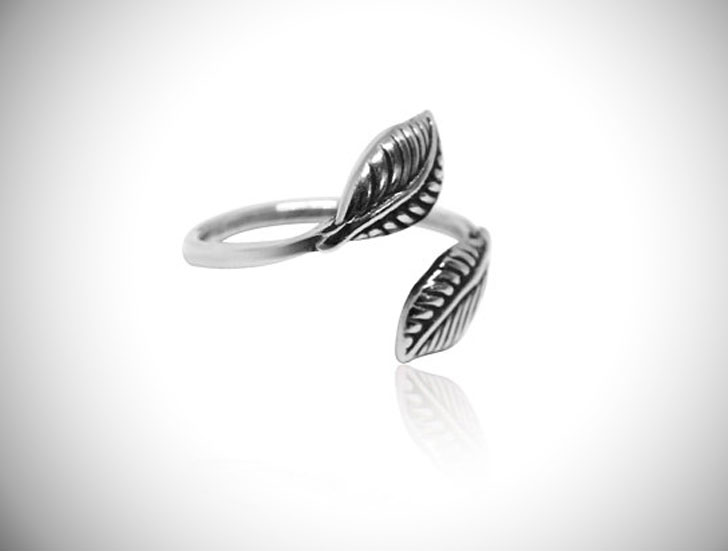 Adjustable Sterling Silver Thumb Ring