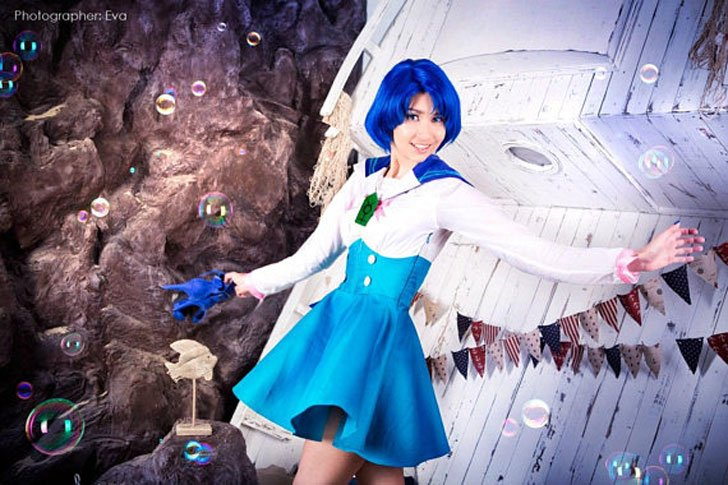 Ami Mizuno Sailor Mercury Cosplay Costume - anime costumes