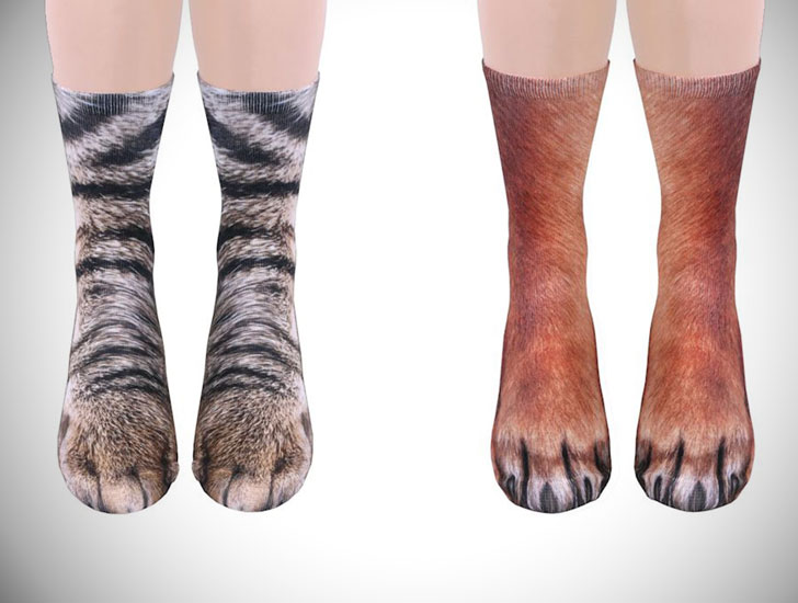 Animal Hooves and Paws Socks