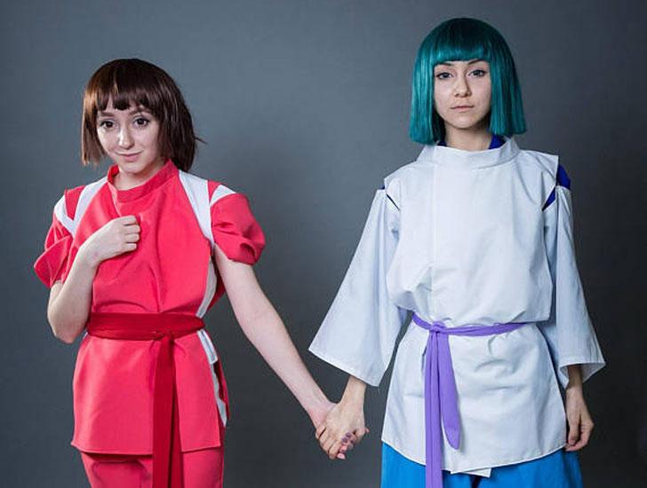 Anime Spirited Away Cosplay Costume