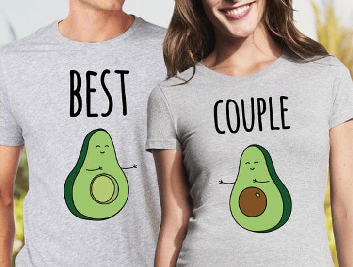 Avocado Couples T-Shirts