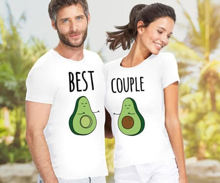 Avocado Couples T-Shirts