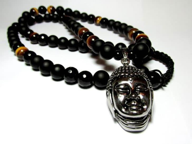 Beaded Buddha Necklace