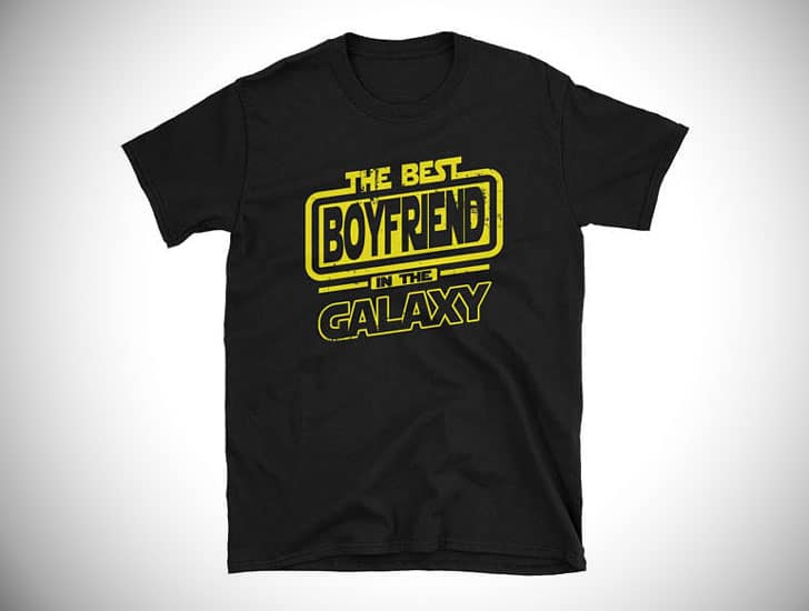 Best Boyfriend In The Galaxy T-Shirt