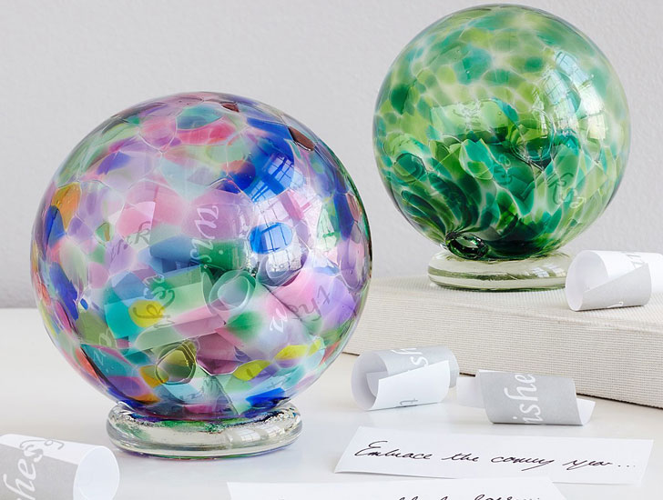 Birthstone Wishing Balls - Sentimental Gifts For Mom