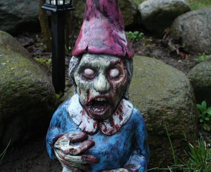 Bloody Mary Zombie Gnome