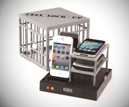 Cell Lock-Up Phone Cage