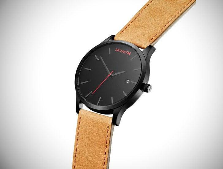 Classic Black Tan 45mm MVMT Watch