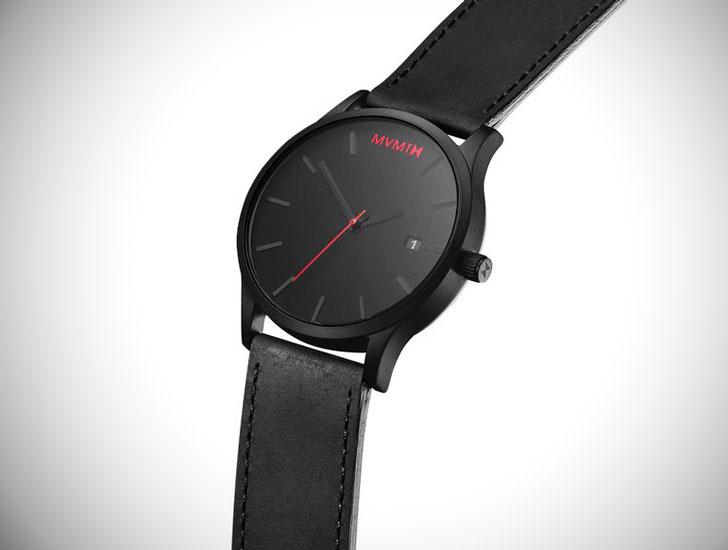 Classic Series Black Leather - Stylish & Unique Men's Watches Under $200