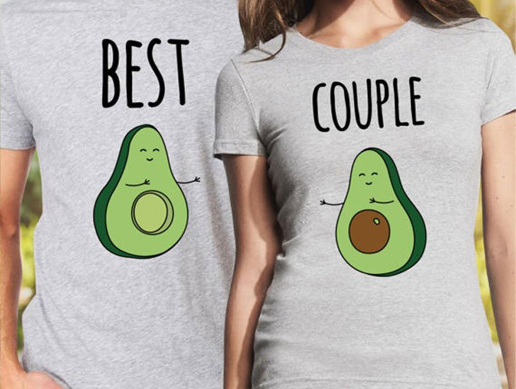 Couples Avocado T-Shirts