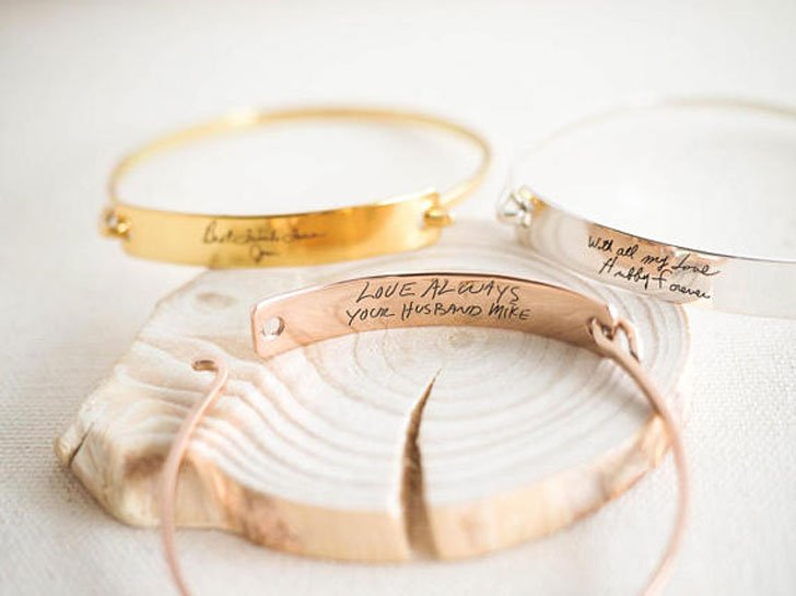 Custom Actual Handwriting Bracelets