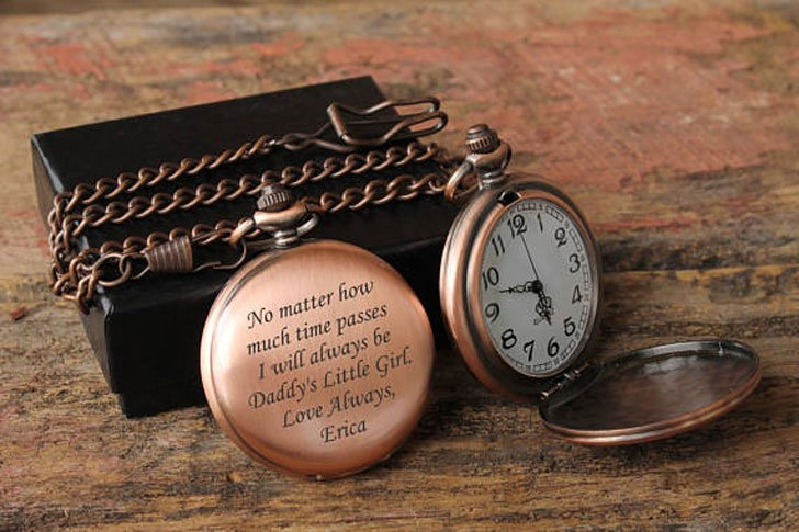 Custom Engraved Pocket Watches