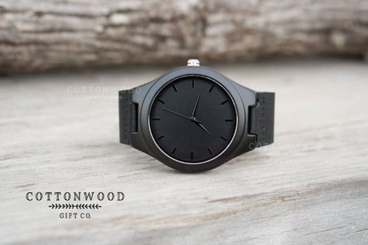 Custom Engraved Wooden Watch