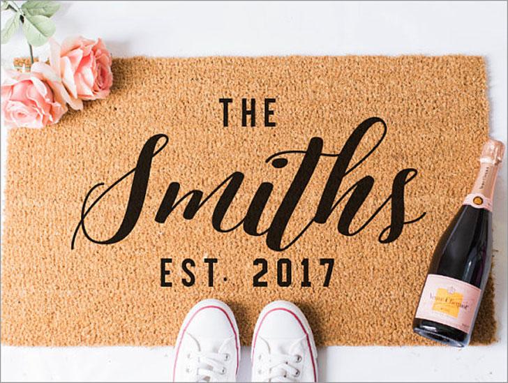 Custom Last Name Doormat