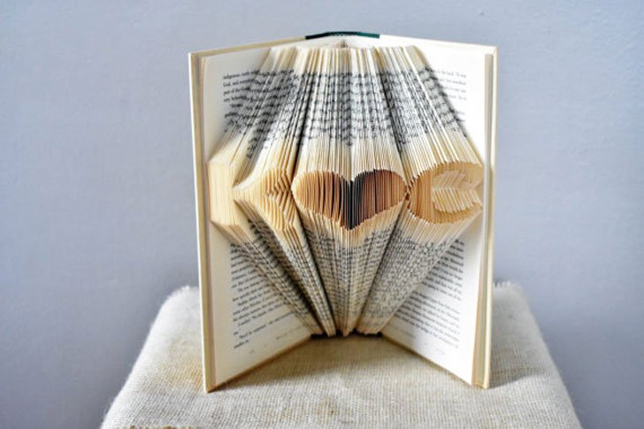 Custom Made Book Art