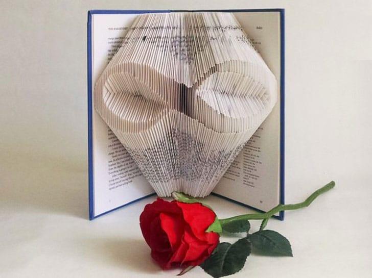 Custom Made Book Art