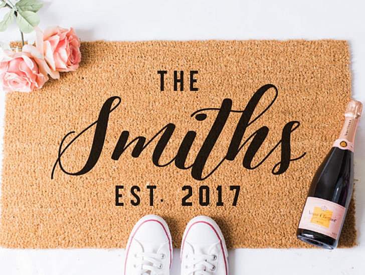 Custom Name Doormat