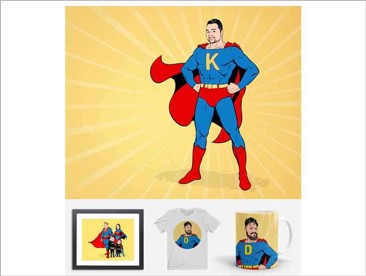 Custom Superhero Products
