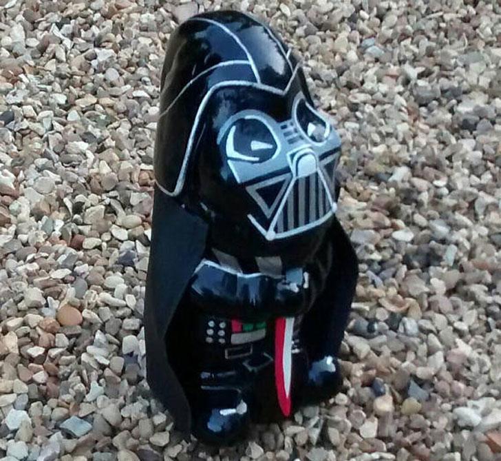 Darth Vader Garden Gnome