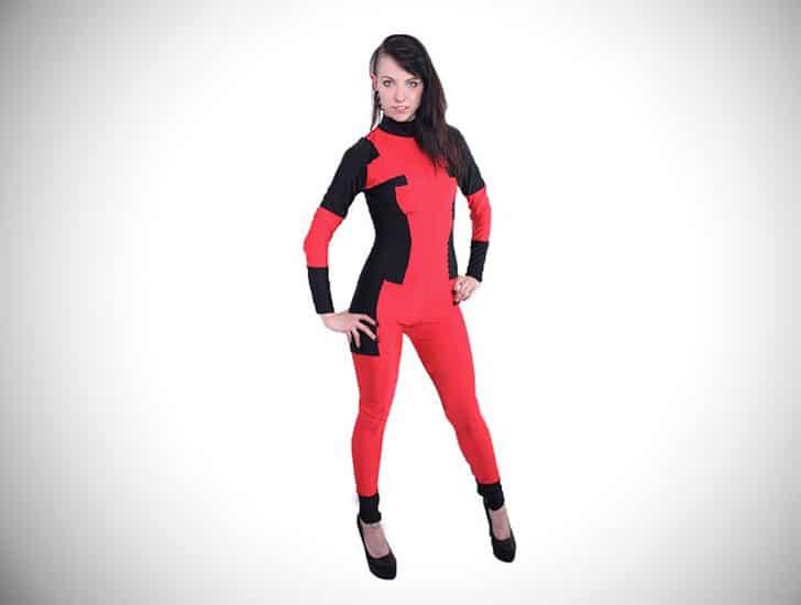 Deadpool Inspired Catsuit