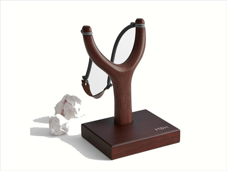 Desktop Wood Slingshot