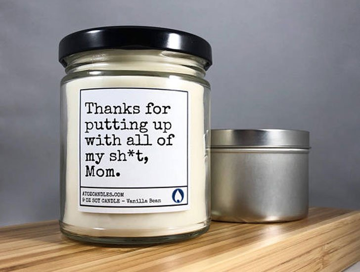 Funny Candle Scent Candles - Sentimental Gifts For Mom