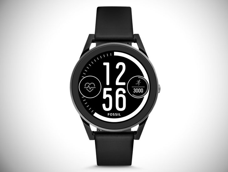 Gen 3 Black Silicone Sport Smartwatch