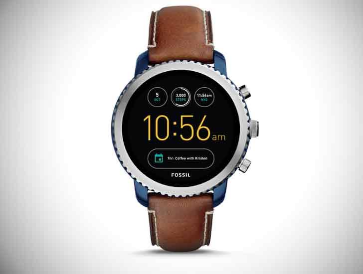 Gen 3 Explorist Luggage Leather Smartwatch - Stylish & Unique Men's Watches Under $200