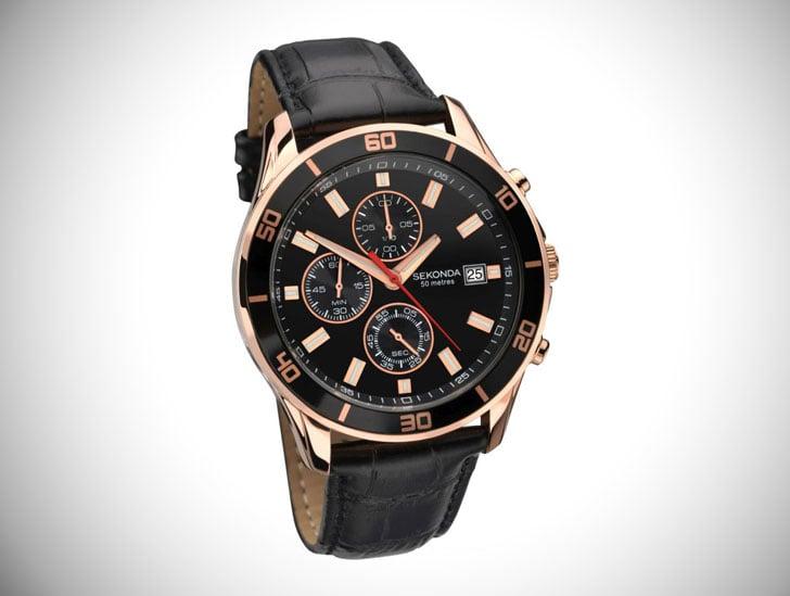 Gents Sekonda Night Fall Chronograph Watch