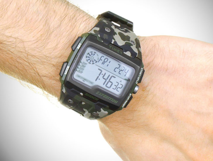 Gents Timex Expedition Alarm Chronograph Watch
