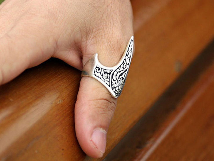 Handmade Deco Thumb Ring for Men