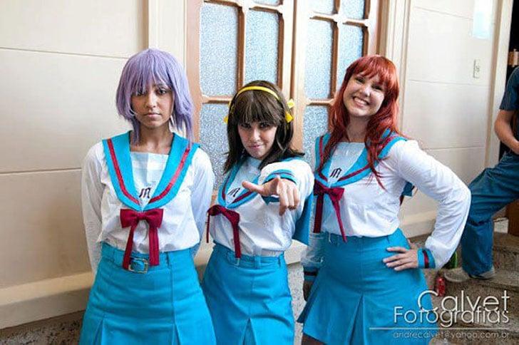 Haruhi Suzumiya Anime Costumes