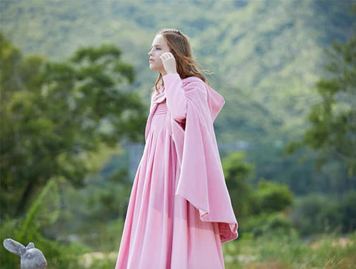 Hooded Wool Cloak Cape