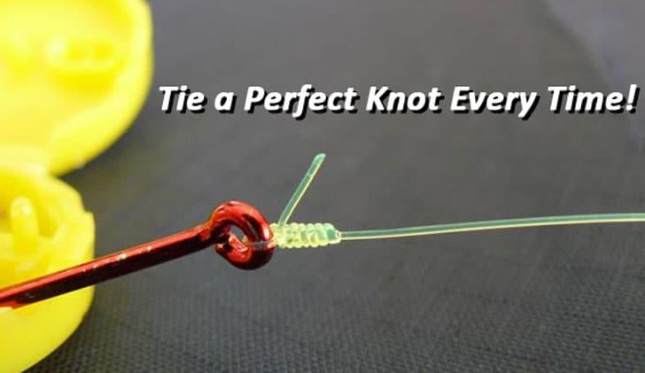 Hook-Eze Fishing Knot Tying Tool