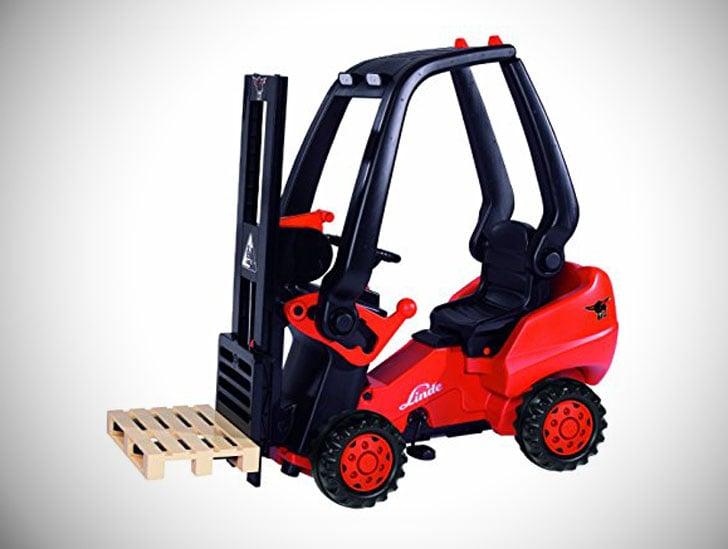 Kids Pedal-Powered Forklift