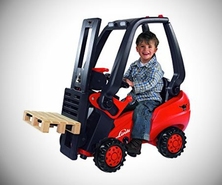 Kids Pedal-Powered Forklift