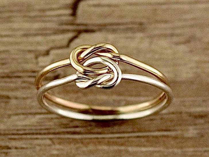 Love Knot Thumb Ring